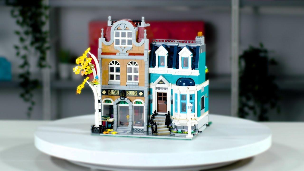 LEGO Creator Expert Bookshop 10270 | Exclusive Designer Interview