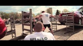 Pojedynek Gigantów Strongman Piła 2015
