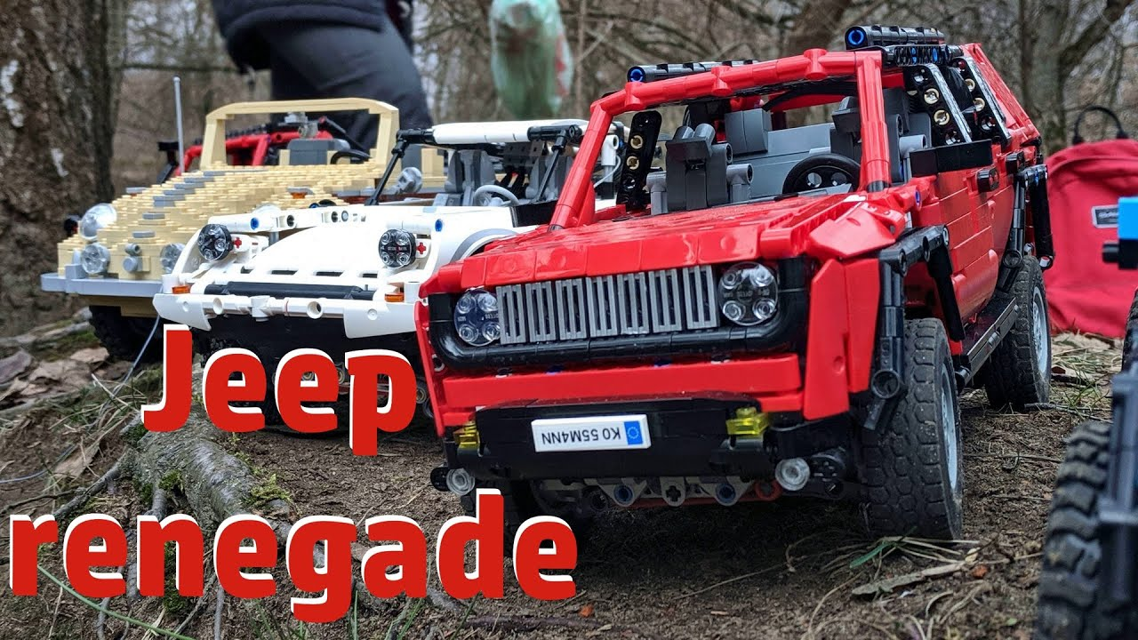 Jeep Renegade (lego technic MOC)