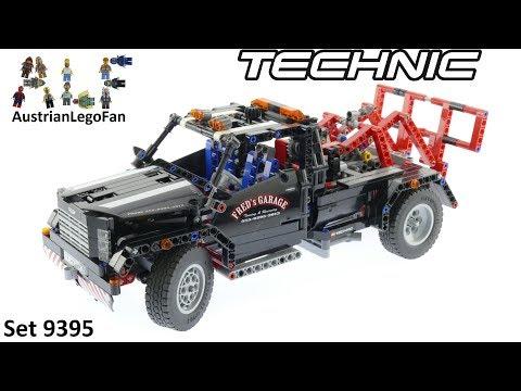 Vidéo LEGO Technic 9395 : Le pick-up dépanneuse