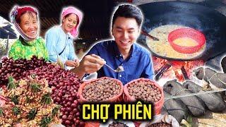 HOẢNG HỒN Vì Các Món Bán ở Chợ Phiên |Du Lịch Hà Giang Việt Nam #6