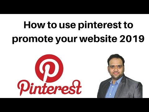 How to use pinterest to promote your website 2019