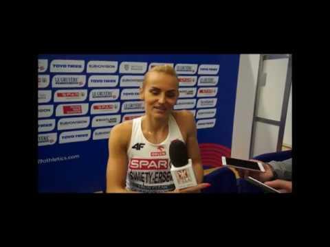 HME Glasgow 2019: Justyna Święty-Ersetic przed finałem