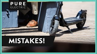 5 Common Electric Scooter Mistakes to Avoid & How to Fix Them