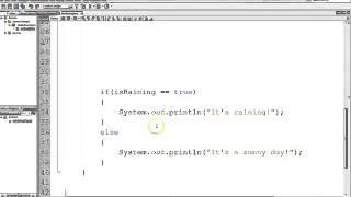 Boolean Variables in Java