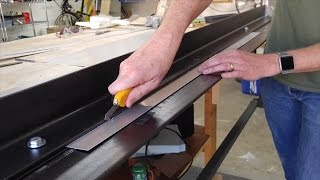 Fast, Precision Aluminum Sheet Cuts with a Brake and Olfa knife
