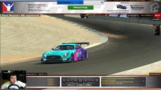 #iRacing VRS GT @ Laguna Seca Week 5
