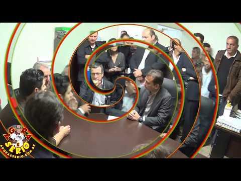 Reunião na Prefeitura de Juquitiba entre Deputados , Prefeito , Vereadores e Representantes da ANTT