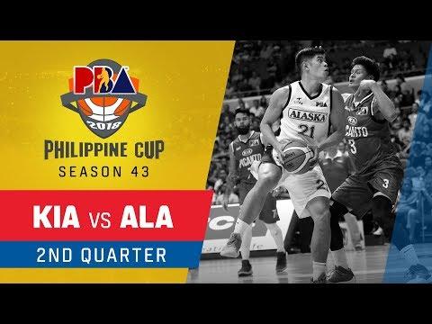 Kia vs. Alaska – Q2   PBA Philippine Cup 2018