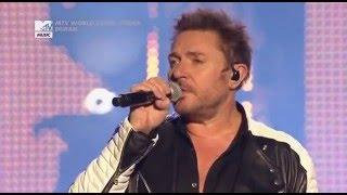 "Duran Duran Mtv on Stage 2015 ""What are the Chances"""