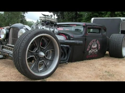 Rat Rods that will blow your mind-street machines,hot rods,rat rods sound