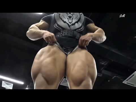 , title : 'Biggest thighs on a female bodybuilder we have ever seen'
