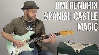 "Jimi Hendrix Guitar Lesson For ""Spanish Castle Magic"""