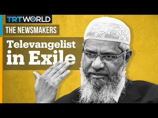 Controversial Preacher Zakir Naik Speaks to The Newsmakers