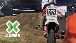 Moto X QuarterPipe preview with Tyler Bereman | X Games Minneapolis 2018