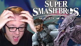 SUPER SMASH BROS. ULTIMATE REACTION! RIDLEY, SNAKE, WOLF, EVERYONE IS RETURNING!!! – Aaronitmar - dooclip.me