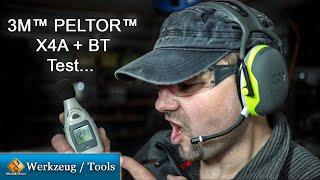 3M Peltor X4A Review + 3M Peltor Wireless Communication Bluetooth Headset