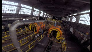 Exploring Huge Abandoned Factory With Drone   FPV Freestyle