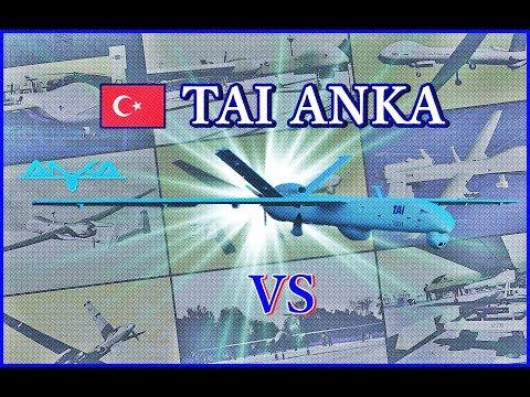 ANKA'nın Dünyanın En Meşhur İnsansız Hava Araçları ile Kıyaslaması