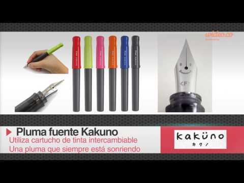 Pluma Fuente Pilot Kakuno - Especial para niños