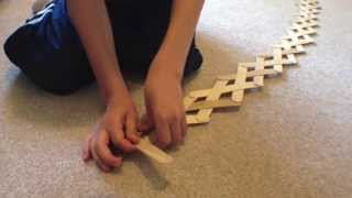 How-To Make A Cobra Weave Stick Bomb Out Of Popsicle Sticks