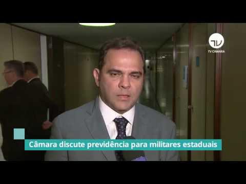 Inclusão de PMs é pauta em comissão de previdência das Forças Armadas - 03/09/19