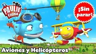 Paulie y Fiona | Aviones y Helicópteros | Caricaturas para Niños | Caricaturas en Español