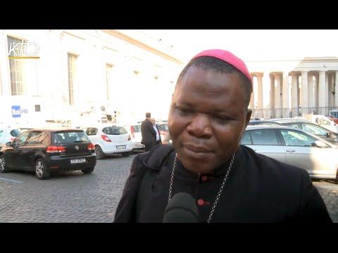 Mgr Nzapalainga : Le Nuntius, un message de consolation