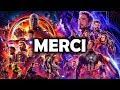 MERCI AUX AVENGERS - BILAN (post Avengers Endgame)
