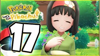 Pokémon Let's Go Pikachu Walkthrough Part 17 Erika Celadon City Gym (co-op gameplay)