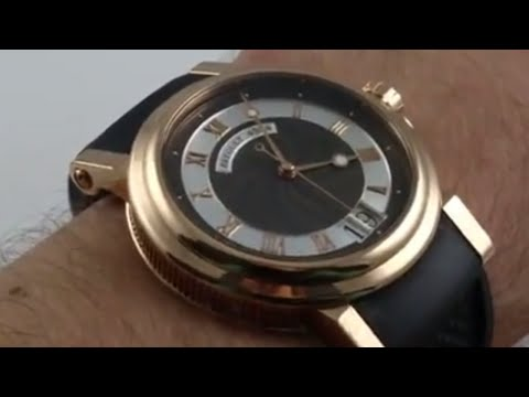 Pre-Owned Breguet Marine Big Date 5817BR Luxury Watch Review