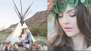Rustic Boho Chic Wedding - Camelback Inn with Arizona's Finest Weddings & @RolfsSalon