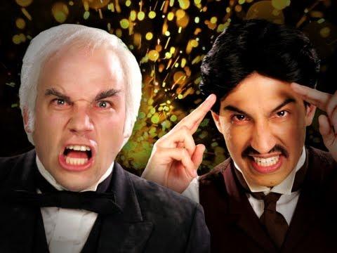 Nikola Tesla vs Thomas Edison. Epic Rap Battles of History