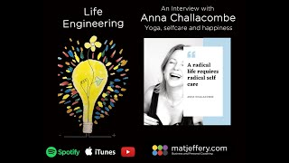 #003 – Anna Challacombe – Yoga, self-care and happiness