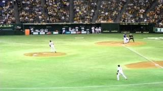 2011.10.16巨人vs中日ブランコ焼け石に水アーチ