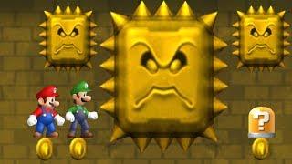 Newer Super Mario Bros Wii Co Op Walkthrough   Part 2   Rubble Ruins