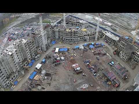 Веб-камера на стройке / ЖК «Полис на Комендантском»