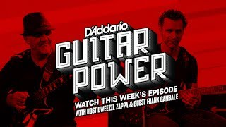 Hello Everyone The latest Guitar Power video from DAddario has been released