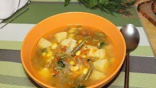 Овощной суп. Для тех кто постится или на диете.