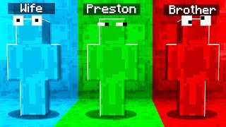Rainbow SLIME Camo PRANK In Minecraft Hide & Seek!