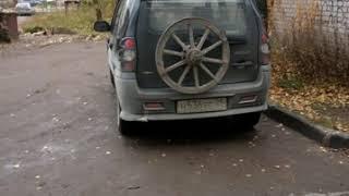 Вот такое #запосное колесо у машины#город ВЕЛЬСК#