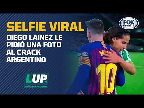 La viral foto de Diego Lainez y Lionel Messi 37f604f61d4ef