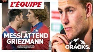 """MESSI Espera A GRIEZMANN"": L'Équipe | ¿Quién Llegaría Al ATLETI? | De Ligt DUDA"