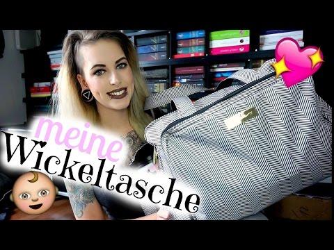 Unsere Wickeltasche mit Stoffwindeln | JujuBe be prepared