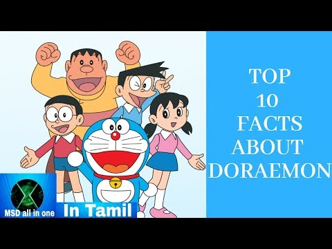 Top 10 Facts About Doraemon In Tamil - MSD all in one