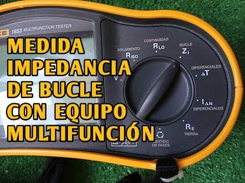 MEDIDA IMPEDANCIA DE BUCLE CON EQUIPO MULTIFUNCIÓN