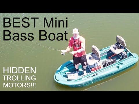 BEST Mini Bass Boat Review: CUSTOM Twin Troller X10 Tour