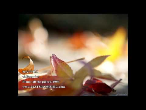 """Relaxing Piano Music  """"A Promise"""" by MATURO"""