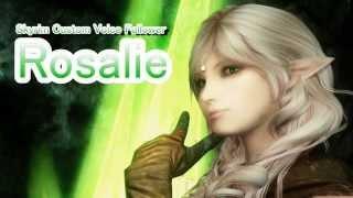 Skyrim Mod: Custom Voice Follower Rosalie
