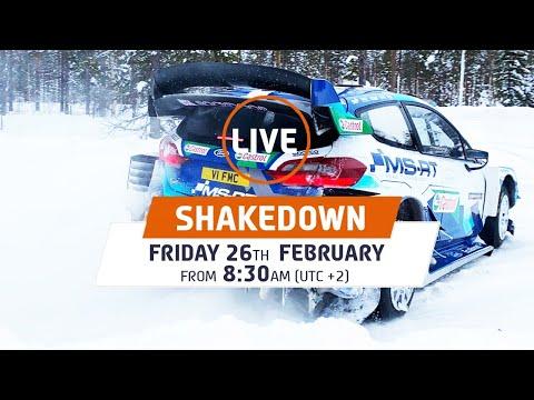 WRC 2021 第2戦のラリーフィンランド 無料で放送されるシェイクダウンライブ配信動画2
